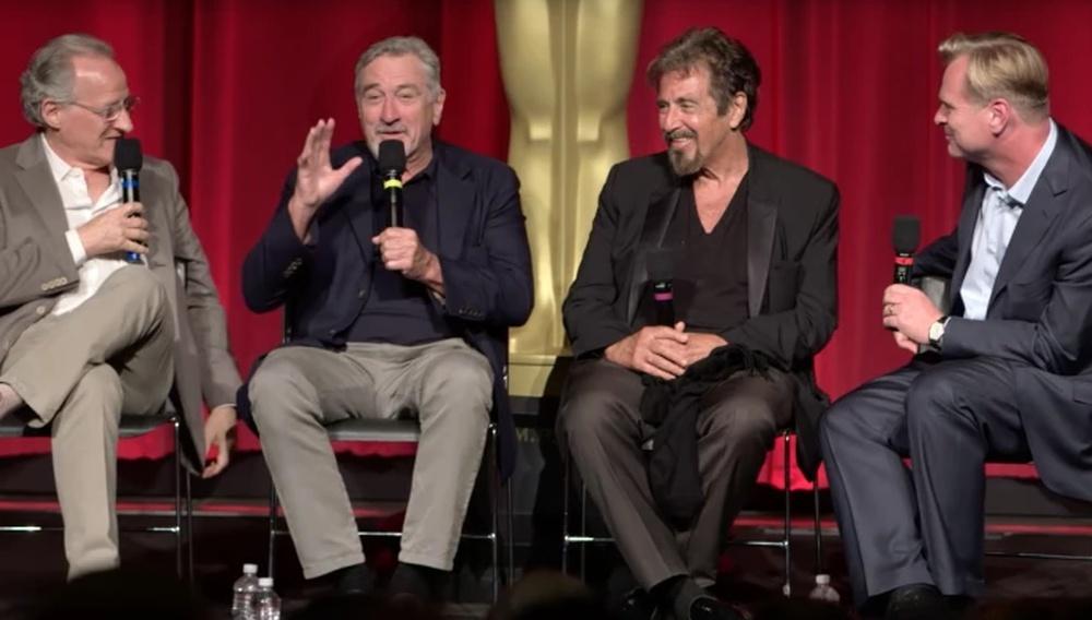 20 χρόνια από το «Heat»: οι Μάικλ Μαν, Αλ Πατσίνο & Ρόμπερτ Ντε Νίρο μιλούν για την ταινία στον Κρίστοφερ Νόλαν