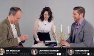 Ο,τι πιο αστείο θα δείτε σήμερα: το καστ του «Downton Abbey» παίζει ένα βρωμόστομο επιτραπέζιο