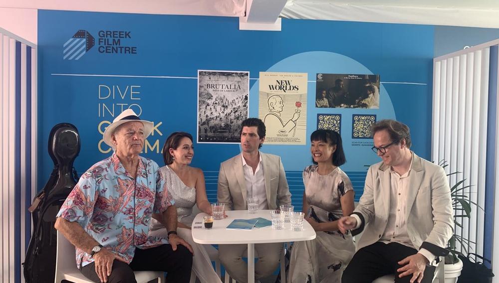 Κάννες 2021 | Ο Μπιλ Μάρεϊ στο Ελληνικό Περίπτερο του Φεστιβάλ των Καννών