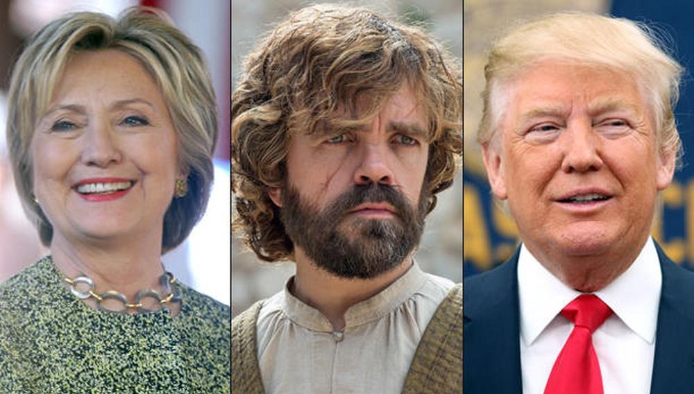 Οι Αμερικανοί το αποφάσισαν: όχι Χίλαρι, όχι Τραμπ - Tyrion for President!