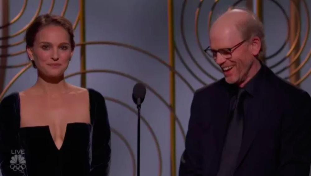 Χρυσές Σφαίρες 2018: Στίβεν Σπίλμπεργκ & Γκιγιέρμο ντελ Τόρο σχολιάζουν τη σπόντα της Νάταλι Πόρτμαν