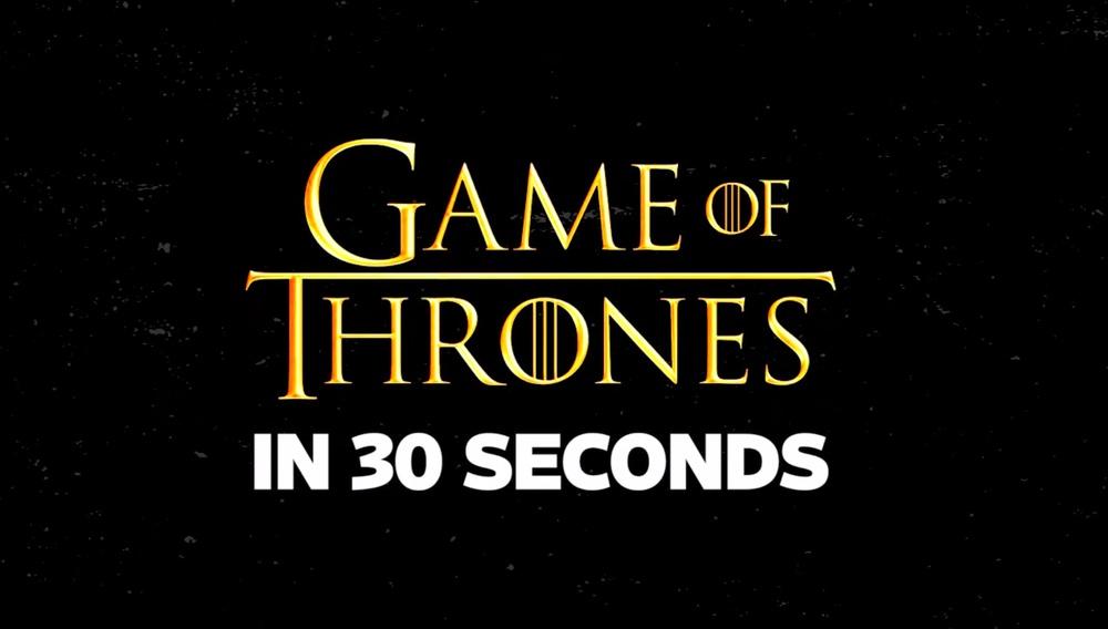 Φόνος, εκδίκηση, αίμα, βυζιά... Το καστ του «Game of Thrones» προσπαθεί να συνοψίσει τη σειρά σε 30 δευτερόλεπτα