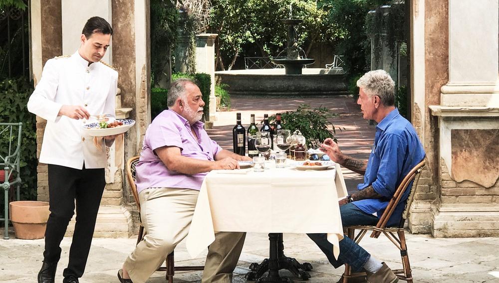 Οταν ο Αντονι Μπουρντέν έκανε το τραπέζι στον Φράνσις Φορντ Κόπολα