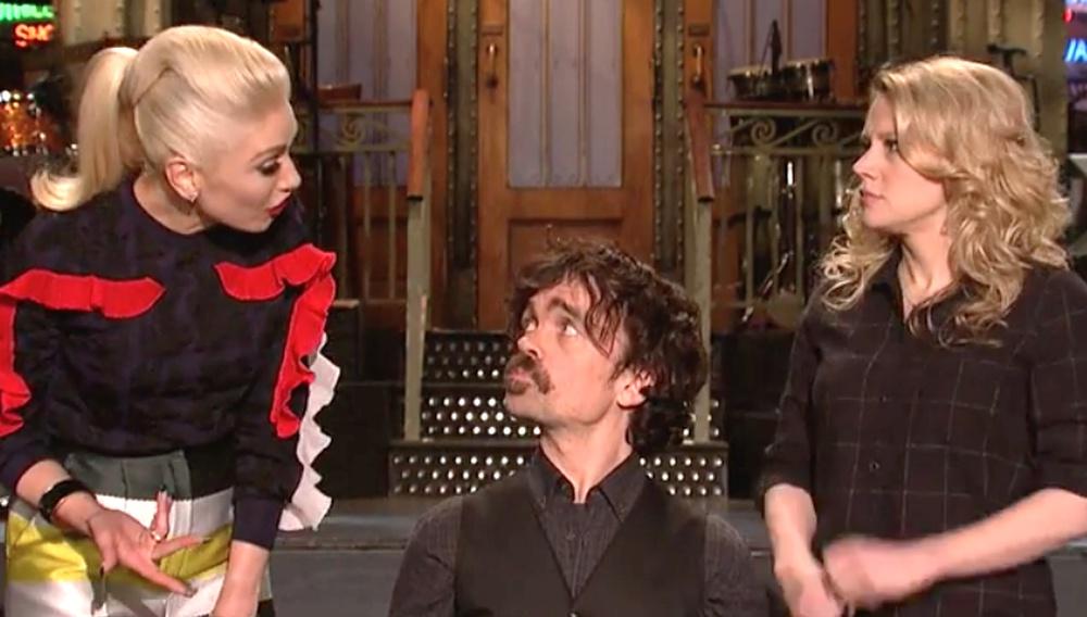 Ο Πίτερ «Τίριον» Ντίνκλατζ τα 'σπασε χθες στο Saturday Night Live