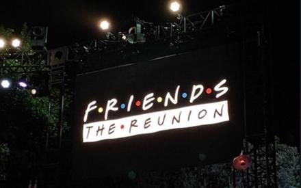 That's a wrap. Το «Friends: The Reunion» ολοκλήρωσε τα γυρίσματά του