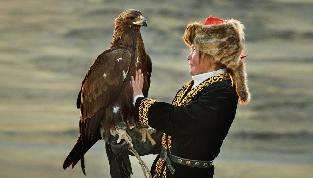 Η Κυνηγός με τον Αετό