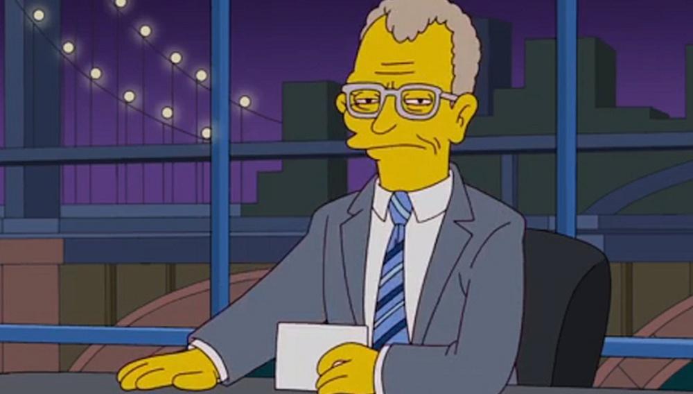 Δείτε πώς οι Simpsons αποχαιρετούν τον Ντέιβιντ Λέτερμαν