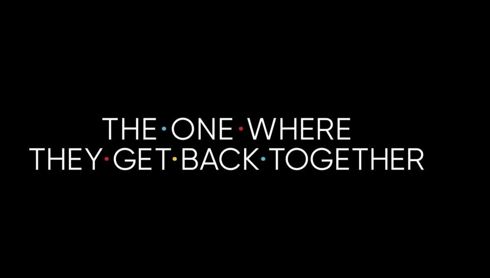 Ετοιμοι; Πρώτο teaser για το πολυαναμενόμενο «Friends Reunion»