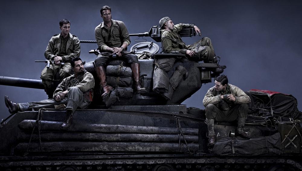 This is war: Ο Μπραντ Πιτ θέλει να τελειώνει με τον πόλεμο στα πρώτα πλάνα από το  «Fury»