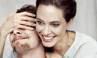 Η Αντζελίνα Τζολί φωτογραφίζεται με τον (δεύτερο) πιο αγαπημένο της άντρα