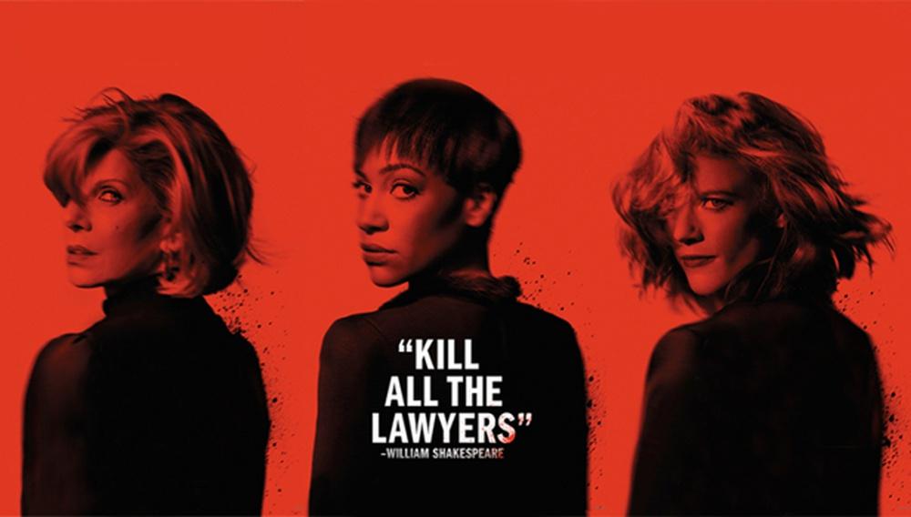 Kill all the lawyers! Κι όμως, το τρέιλερ της δεύτερης σεζόν «The Good Fight» είναι (κυρίως) αστείο