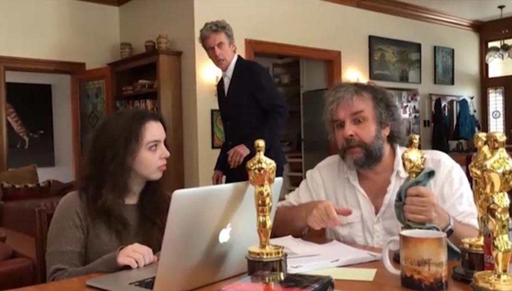 Τελικά ο Πίτερ Τζάκσον ψήνεται να κάνει ένα επεισόδιο «Doctor Who»...