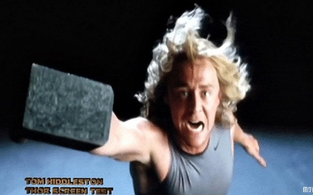 Tom Hiddleston's Thor Auditions