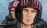 Highway to the danger zone. Οι χαρακτήρες του «Archer» πρωταγωνιστούν στο «Top Gun»
