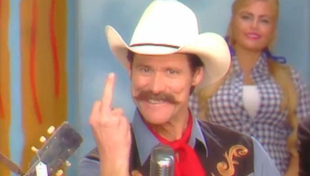 Ο Τζιμ Κάρεϊ τεντώνει το δάχτυλο στην οπλοκατοχή και το Fox News