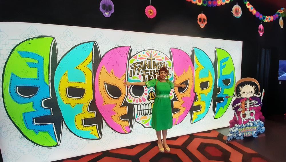 Η Ρηνιώ Δραγασάκη μας στέλνει «Cosmic Candy» από το Fantastic Fest του Τέξας