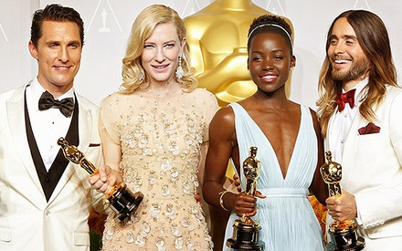 The 2014 Oscars Ceremony in less than 2 minutes