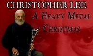 Χαρούμενα  Heavy Metal Χριστούγεννα με τον Κρίστοφερ Λι