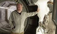 Ρίντλεϊ Σκοτ, Μάικλ Φασμπέντερ στα γυρίσματα του «Alien: Covenant»