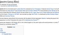 H Wikipedia βλάπτει σοβαρά τον... Τζέιμς Μποντ #2