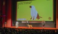 21ο Φεστιβάλ Ντοκιμαντέρ Θεσσαλονίκης: Η Μόλυ κηρύσσει την έναρξη του φεστιβάλ!
