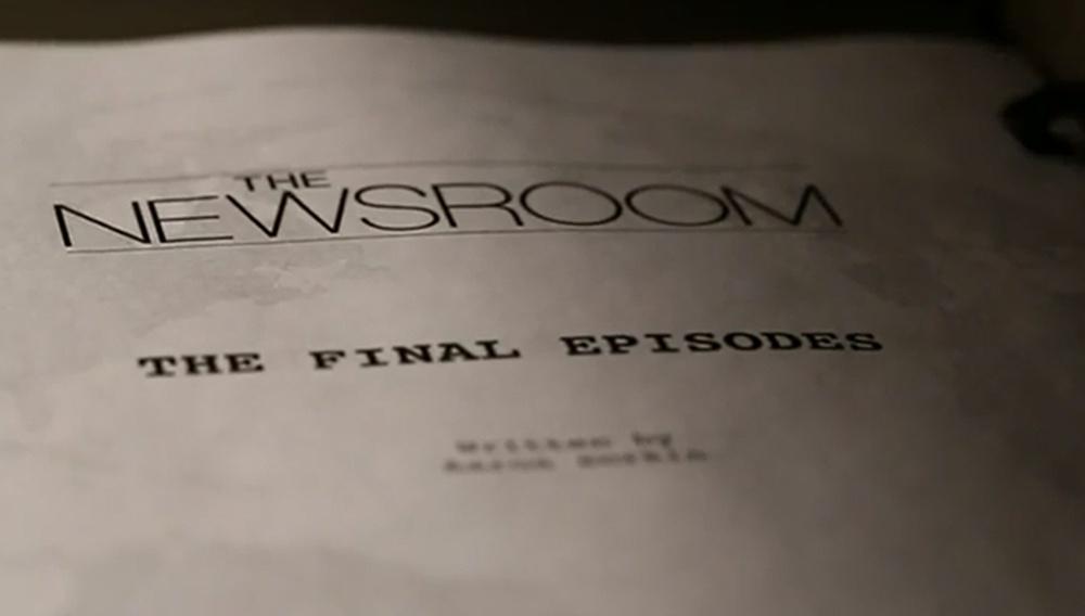 Fade to black. Teaser για την 3η και τελευταία σεζόν του «Newsroom»