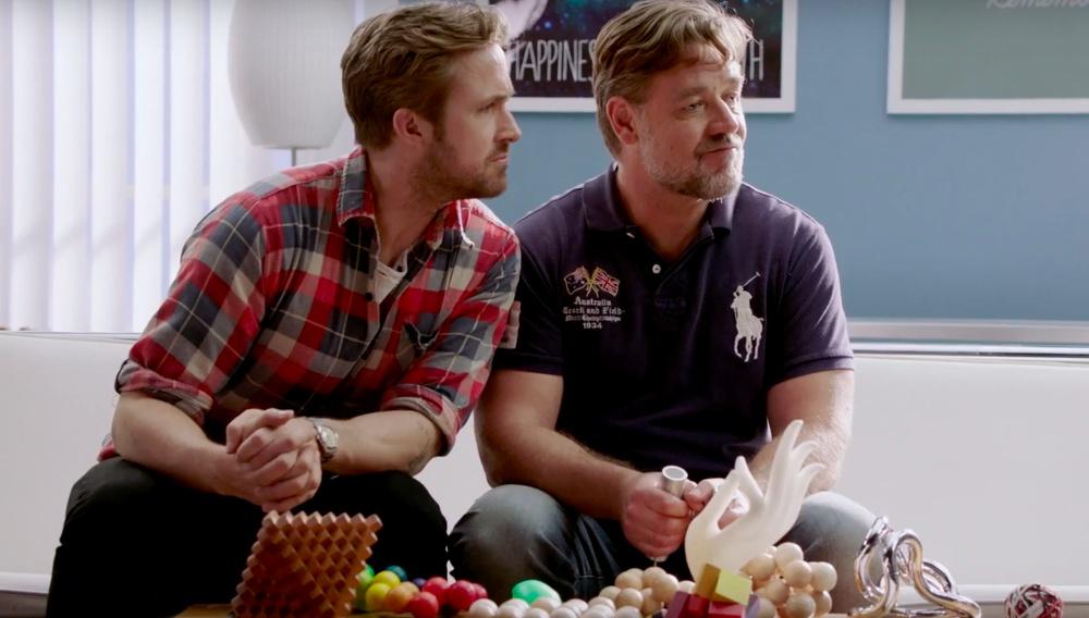 Βίντεο: οι Ράσελ Κρόου & Ράιαν Γκόσλινγκ σε σύμβουλο ζευγαριών