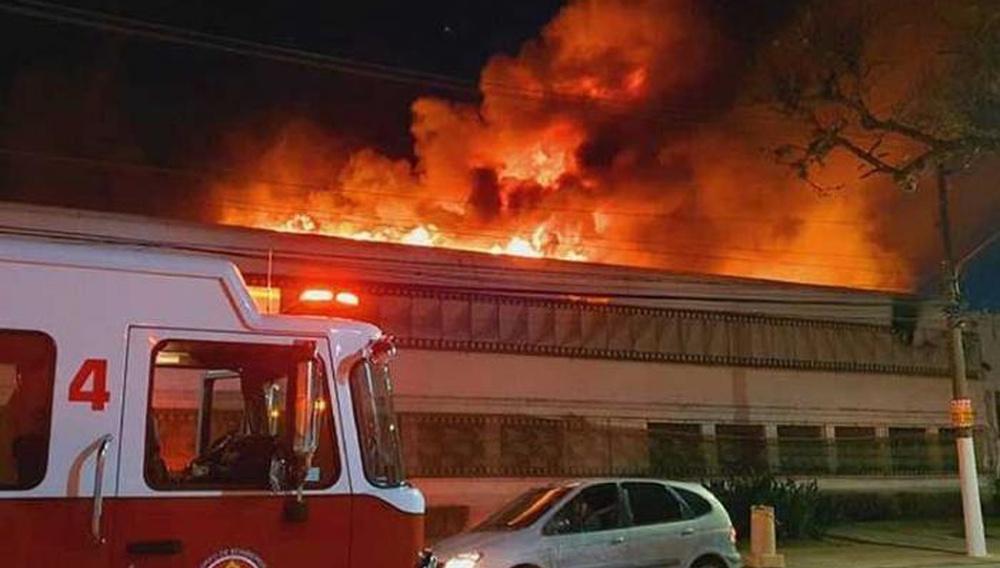 Φωτιά καταστρέφει 4 τόνους κινηματογραφικής κληρονομιάς σε αποθήκη της Ταινιοθήκης της Βραζιλίας