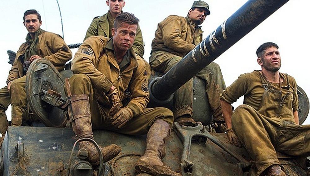 Ο Μπραντ Πιτ είναι ο Wardaddy στις πρώτες φωτογραφίες από το «Fury» του Ντέιβιντ Αγιερ